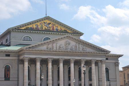 residenz: Residenz Theatre in Munich (Bavaria, Germany) Stock Photo