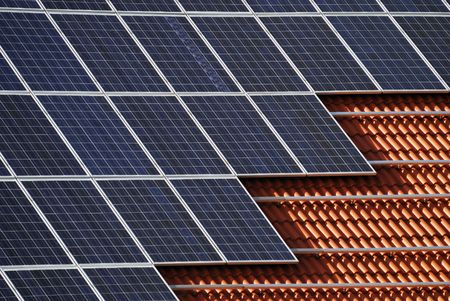 sun roof: Alternative energy with solar panels