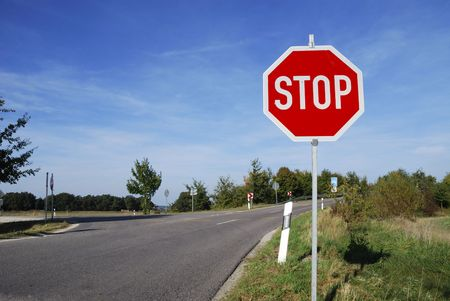 Stop sign                            Stock Photo - 5909356