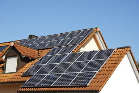 photovoltaic: Alternative energy with solar panels