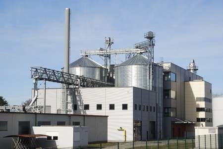 chemical  industry: Industrial site of the chemical industry.