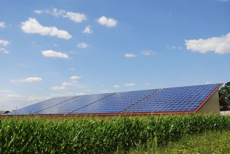 Alternative energy with photovoltaic cells
