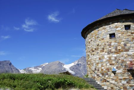 hohe tauern: Tower in the Grossglockner area in the Hohe Tauern mountains (Austria)