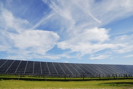 Solar powerstation for generation of friendly energy
