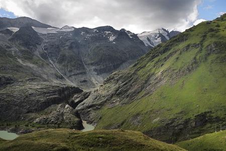 Mountain view in Austria at the Grossglockner Hochalpenstrasse (high alpine road). Stock Photo - 8469557