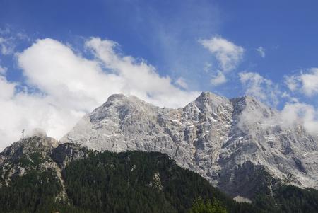 tyrol: Mount Zugspitze in Tyrol (Austria)