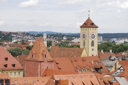 regensburg: Regensburg in Germany Stock Photo