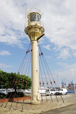 kiel: Old lighthouse in Kiel (Germany)