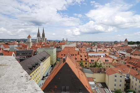 regensburg: The World Heritage Site Regensburg in Germany Editorial