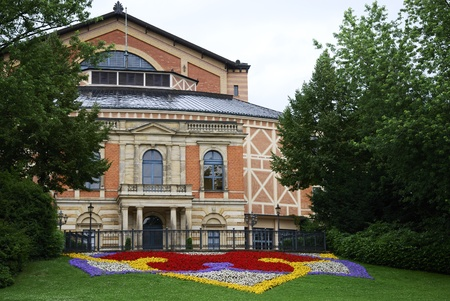 wagner: Richard Wagner Opera house in Bayreuth (Germany)