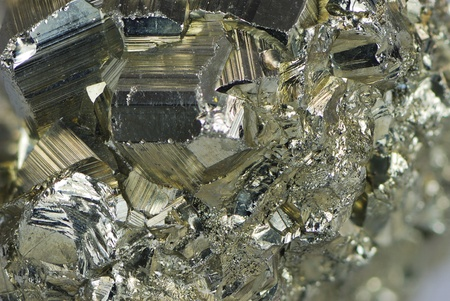 Background of an iron pyrite mineral photo