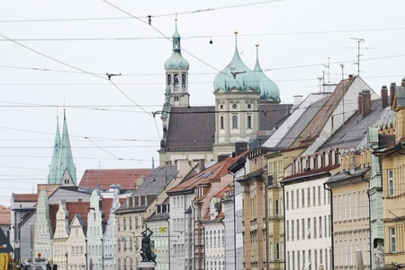 City of Augsburg in Germany Stock Photo - 13141715