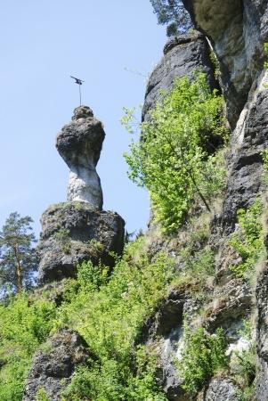 Cliffs in Franconian Switzerland (Fraenkische Schweiz, Germany) Stock Photo - 13980354