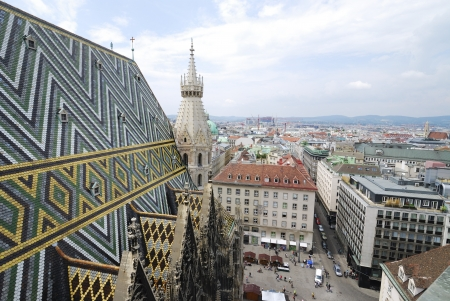 View over the city of Vienna, Austria Stock Photo - 14740338