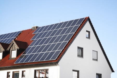 Photovoltaic - Electricity generation with solar panels on the roof