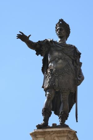 augustus: Sculpture of Augustus in Augsburg at the Augustus fountain, built 1594
