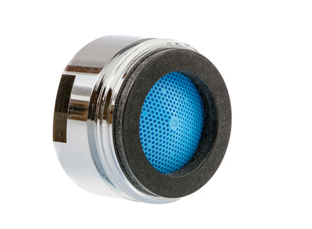 water filter: Isolated faucet aerator for saving water