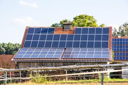 Alternative energy creation at a farm
