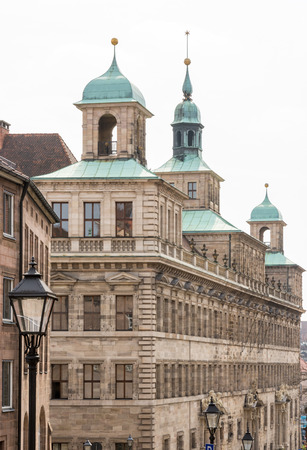 rathaus: The historic Rathaus (town hall) of Nuremberg