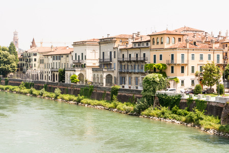 The river Adige in Verona, Italy