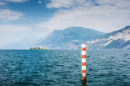 bollard: Bollard at Lake Garda (Italy)