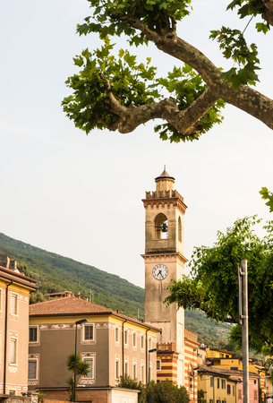 townhall: Tower in Castelletto di Brenzone (Lake Garda, Italy)