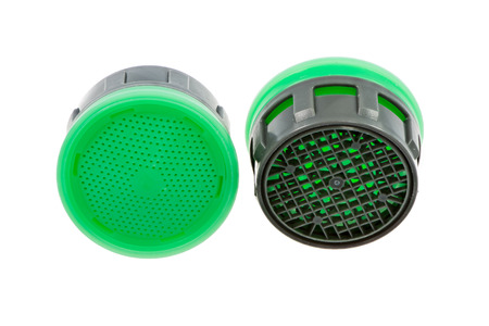 aerator: Isolated faucet aerator for saving water