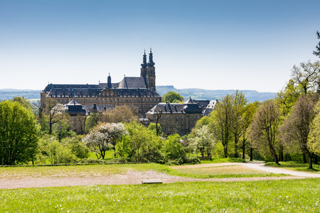 benedictine: The Benedictine Monatery Banz Abbey (Kloster Banz) in Franconia, Germany