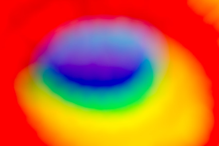 defocussed: Abstract defocussed background with prismatic rainbow colours Stock Photo