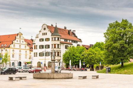ケンプテン, ドイツ - 6 月 9 日: 人 Keptem、2017 年 6 月 9 日にドイツのアルゴイ地方博物館で。ミュンヘンは、ドイツの最古の都市の一つです。