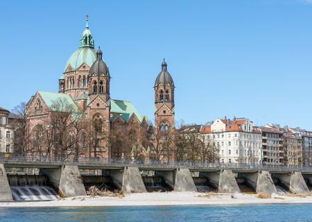Sankt Lukas church in Munich (Bavaria, Germany)