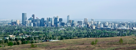 Beautiful Calgary Downtown Skyline  photo