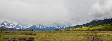 Glacier National Park Road-To-The-Sun  Montana Rocky Mountains Stock Photo - 18570204
