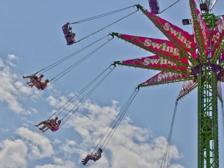 calgary stampede: ferris wheel at Calgary Stampede Park