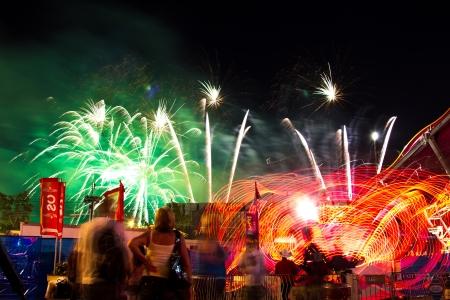 stampede: Calgary Stampede Fireworks
