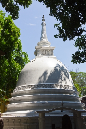 colombo: Gangaramaya Buddhist stupa, Colombo, Sri Lanka Stock Photo
