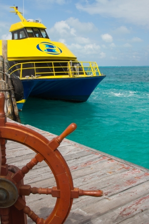 Ferry from Cancun to Isla Mujares photo
