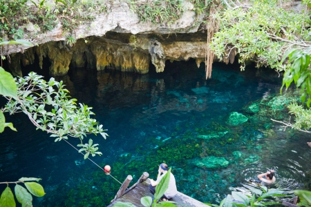 Grand cenote, Tulum, Mexico