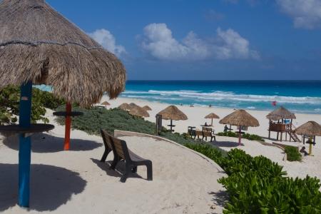Beach in Cancun photo