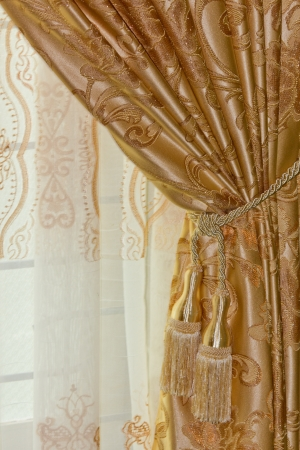 Beautiful curtain Stock Photo - 19311683