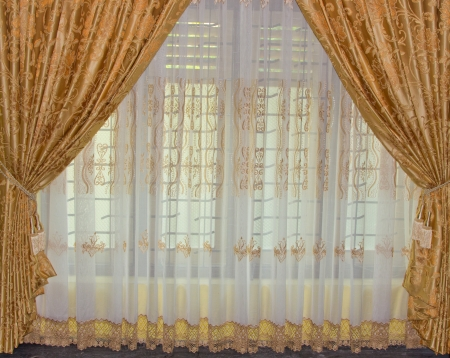 Beautiful curtain photo