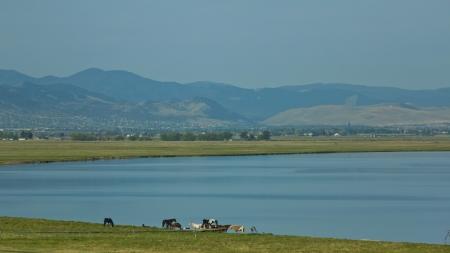 helena: Lake Helena in Montana, USA