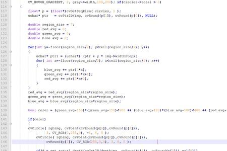 흰색 배경에 프로그램 코드