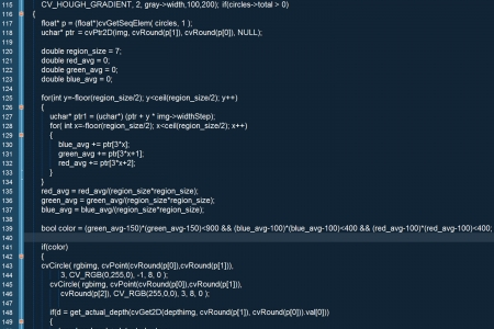 어두운 배경에 프로그램 코드 스톡 콘텐츠