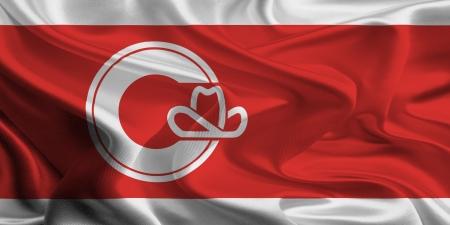 calgary: Calgary Flag Stock Photo