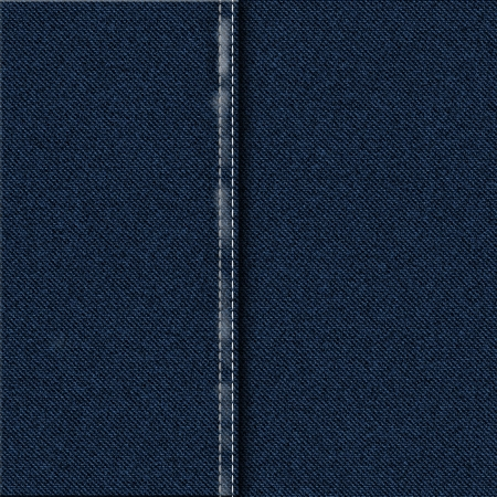 Dark Blue Denim Stof Materiaal Stockfoto