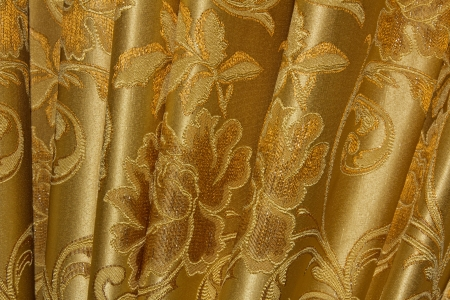 Beautiful curtain Stock Photo - 21989650