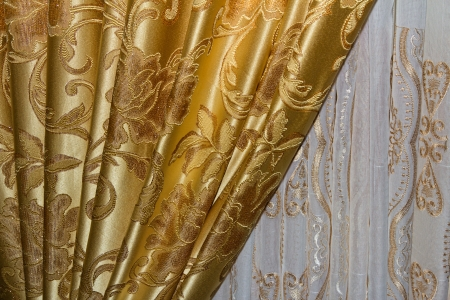 Beautiful curtain  Stock Photo - 21989661