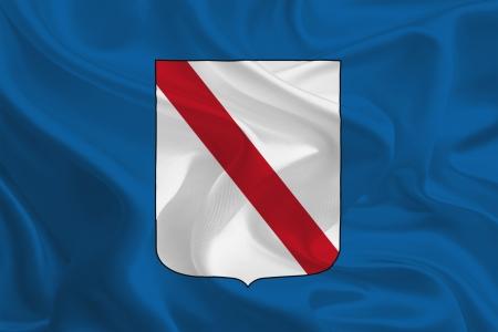 Flags of regions of Italy  Campania photo