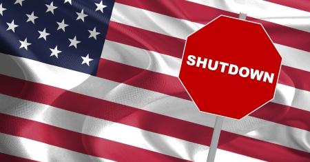 USA regering Shutdown